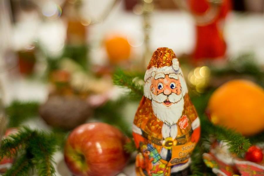 Weihnachtsfeier in Berlin Mitte